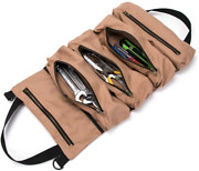 Super Tool Roll, Large Wrench Roll, Big Tool Roll Up Bag, Waxed Canvas Tool Orga