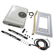 12v 15 Btu Air Conditioner 100 Electric A/c Ac Unit Fits For All Trucks White