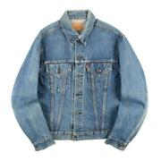 Leviand039s 70505 Denim Jacket 70s Vintage 4th Small E Size 40 Menand039s Outerwear
