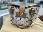 100 Authentic Louis Vuitton Multi Colored Limited Edition Annie Mm Tote Bag