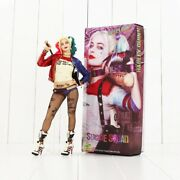 Suicide Squad Harley Quinn Action Figures Model Pvc Collectable Doll Toys Gifts