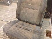 Gm Low Back Bucket Seats 62 63 64 65 Corvair Nova Chevy Ii Ss Excellent Cores