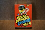 Wacky Packages Series 1 Topps Trading Stickers Box 36 Sealed Packs From 1979