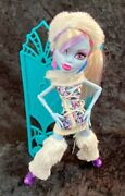 Monster High Abbey Bominable With Screen Plus Accessories Collectable Gift