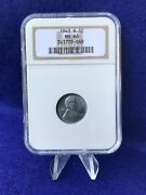 1943-s Steel Lincoln Cent 1c Wheat Penny Ngc Ms66 Gem Brilliant Uncirculated