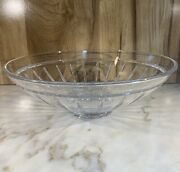 Vintage Reed And Barton Crystal Bowl Centerpiece Signed
