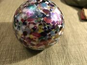 Vintage Gibson 1990 Confetti Paperweight