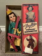 Hazelleand039s Popular Marionette Puppet Robin Hood 809 Nice Example With Box