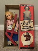 Hazelleand039s Popular Marionette Puppet Gretel 814 Nice Example With Box