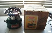 Coleman 502 Sportster Backpacking Cooking Stove Dated 11/80