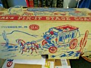 Vintage Ideal Fix-it Stage Coach In Box