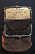 Antique Schlitz Beer Miniature Purse Breweriana, Beer Signs And Tins Accessories
