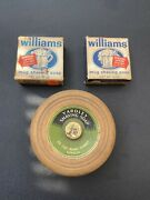 Collection Of Vintage Shaving Soap - Williams, Colgate And Yardley