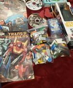 Mixed Lot With Star Wars Legos Kylo Ren Andtransformer Comic Books