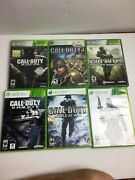 Xbox 360 Call Of Duty Lot6 Modern Warfare Mw3 And Black Opstested Ghost Cod 3