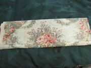Jonelle Fabric Duracolour Pompadour 10 Yds 21 Polished Cotton Made In England