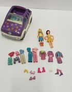 Mixed Lot Polly Pocket And Accessories And Vera Bradley Purse