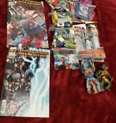 Mixed Lot Star Wars, Legos, And Transformers Comic Books