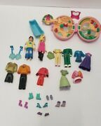 Mixed Lot Polly Pocket And Accessories And Vera Bradley Wallet