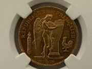 France 1904a 50 Francs Gold Km 831 / F.549/6 Ngc Certified Ms 62