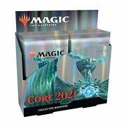 Magic The Gathering Core Set 2021 M21 Collector Booster Box | 12 Packs | Min.