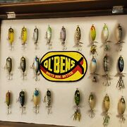 Vintage Ol Bens Wood Torpedo Lure Lot Instant Collection Of 23 Rare Louisiana 👌