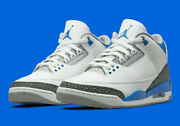 Nike Air Jordan Retro 3 Shoes Racer Blue White Ct8532-145 Menand039s Or Gs New