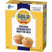 Gold Medal Orange Cranberry Muffin Mix 5 Lb Box Pack Of 6
