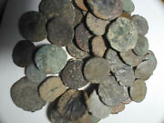 10 Ancient Roman Coins Of Higher Quality Uncleaned