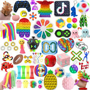 1-120 Pack Pop Fidget Sensory Toys Stress Relief Anxiety Toy Kids Autism Relief