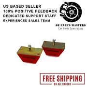 Energy Suspension 9.9109r Red Low Profile Competition Universal Bump Stops