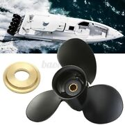9 X 9 Aluminum Marine Boat Outboard Propeller For Merury 6-15hp 48-828156a12