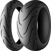 120/70zr 18, 150/60zr 17 Michelin Scorcher 11 Front And Rear Tire Kit - 2 Tires