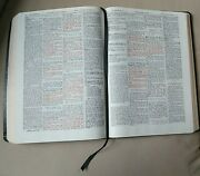 Dake's Annotated Reference Bible, 4 Column Standard Edition Black Bonded Leather