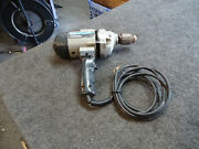 Rockwell 7564 Ehd 1/2 Inch Rev.drill 115v Ac 8.0a 500 Rpm With Chuck Key