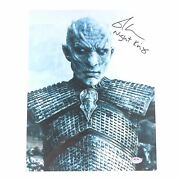Richard Brake Signed 11x14 Photo Psa/dna Autographed Game Of Thrones Night King