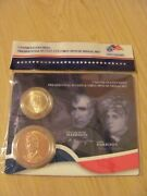 2009 Wm. Harrison And Both John Tyler Dollar And First Spouse Medals