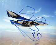 Richard Branson Signed Autograph 8x10 Photo - Awesome Virgin Galactic And039s Unity