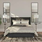 Modern Floor Lamps Set Of 2 With Tray Table Usb Charging Port Bronze Living Room