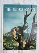 Signed The Outdoorsman Joe Foss Hardcover First Edition 1968 Proud American Wy