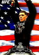 Nick Diaz Topps Ufc 2012 Bloodlines American Flag Parallel Card 16/188 Bmf Mma