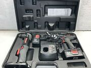 Craftsman 19.2 Volt Cordless Drill-driver Set With 1-hour Charger And Batteries