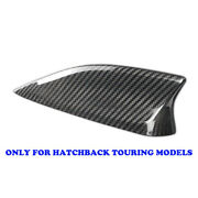 Real Carbon Fiber Shark Fin Antenna Cover Roof For 14-15 Mazda 3 Hatch Touring