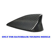 Real Carbon Fiber Shark Fin Antenna Cover Roof For 16-18 Mazda3 Hatch Touring