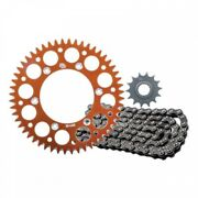 Primary Drive Alloy Kit And O-ring Chain Orange Rear Sprocket 1437620253