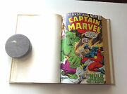 Bound Marvel Comics Creatures On Loose 10 Captain Marvel 21 Rawhide Kid More A1