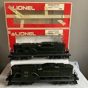 Lionel 6-8357 And 8358 Gp-9 Pennsylvia Rr W/ Boxes For Restore On Engine Train Rr