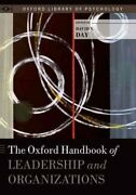 The Oxford Handbook Of Leadership And Organizations By David Day 9780199755615