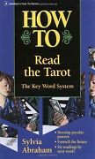 How To Read The Tarot The Keyword System Llewellynand039s How...   Livre   Andeacutetat Bon