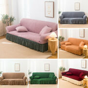 1 2 3 4 Seater Slipcover Elastic Stretch Sofa Full Covers Settee Couch Protector